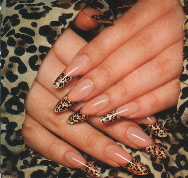 Леопардовый маникюр, для настоящих хищниц! | 1