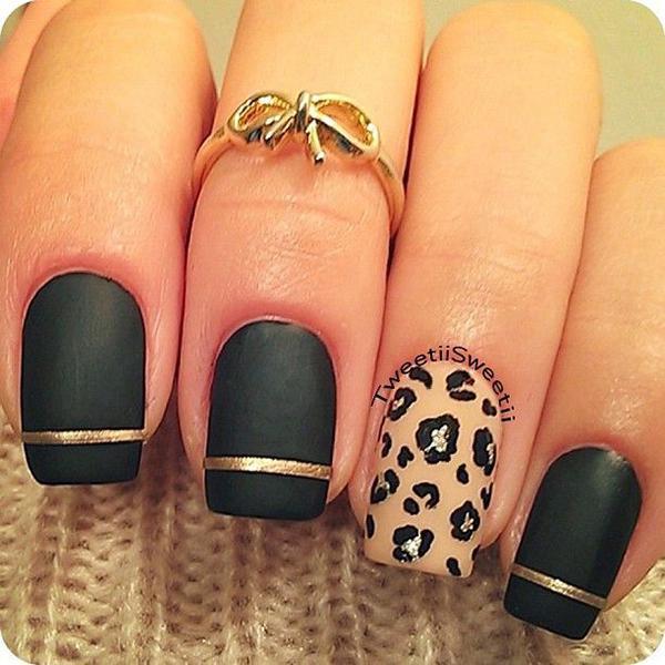 Леопардовый маникюр, для настоящих хищниц! | 12