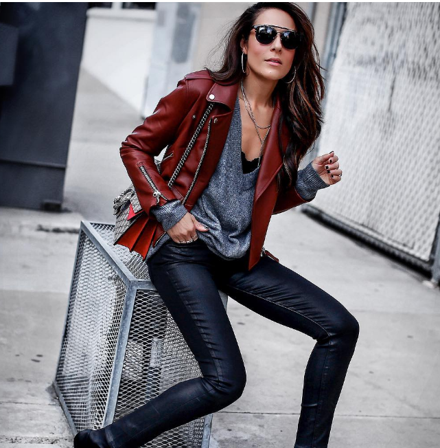 Модный тренд 2018: куртка-косуха | 12