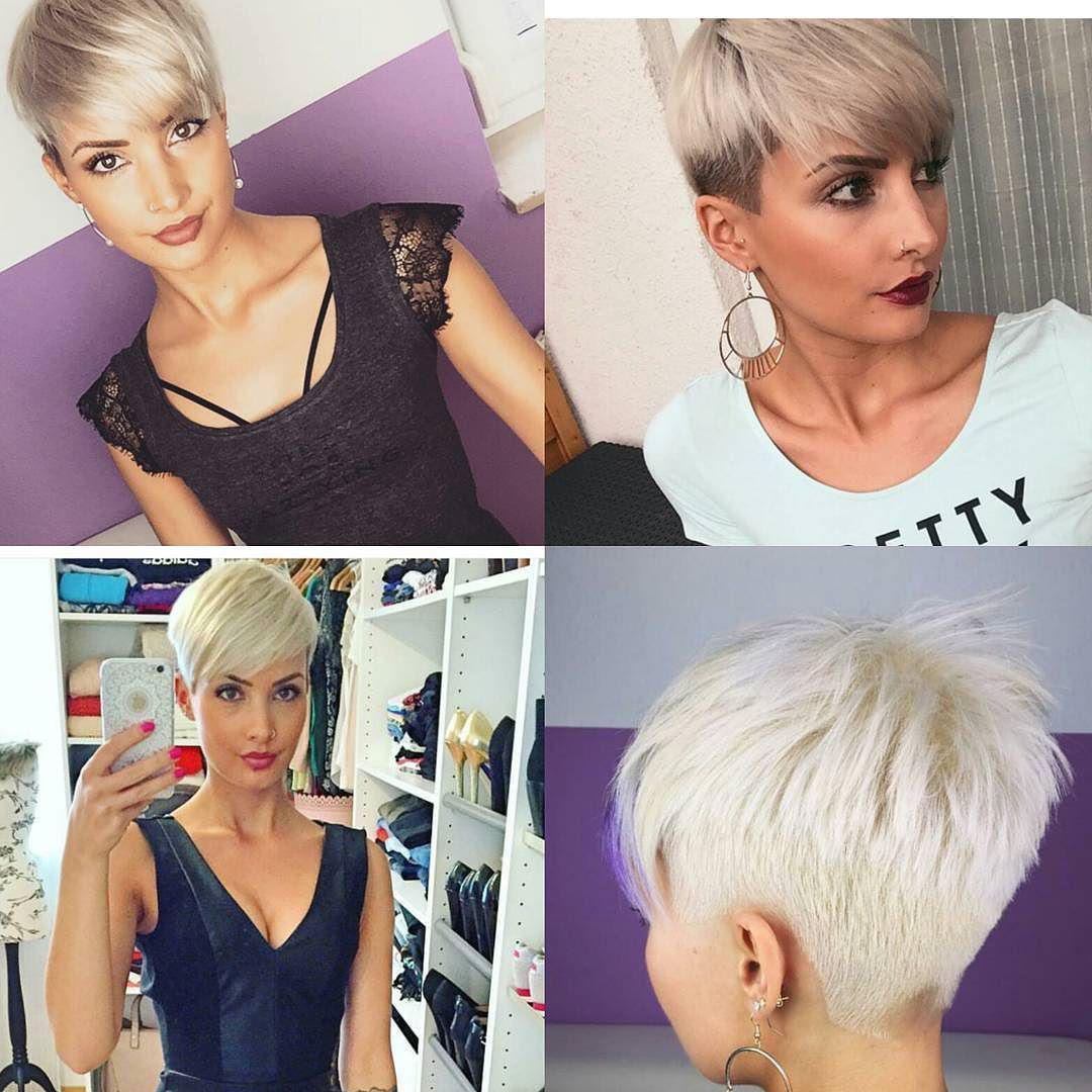 Самые модные женские стрижки 2018 года на короткие волосы (55 фото)
