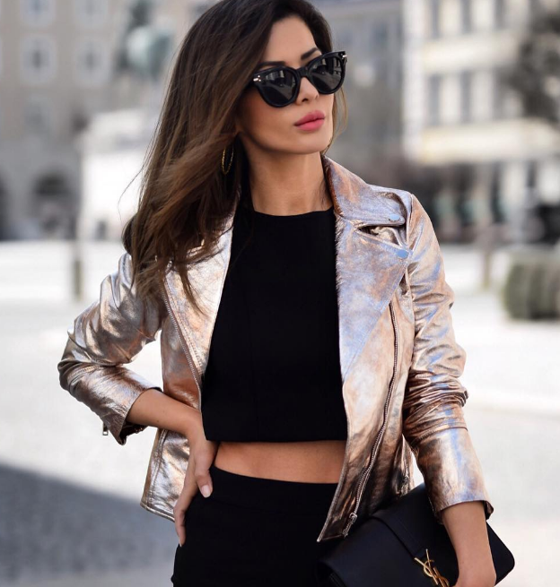 Модный тренд 2018: куртка-косуха | 14