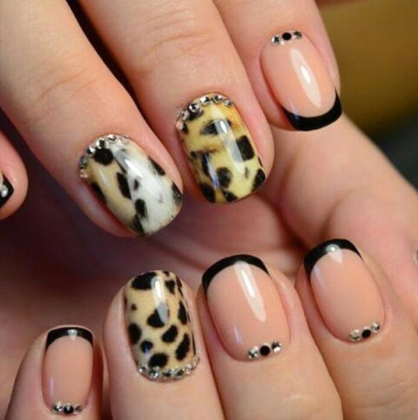 Леопардовый маникюр, для настоящих хищниц! | 16