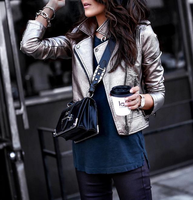 Модный тренд 2018: куртка-косуха | 16