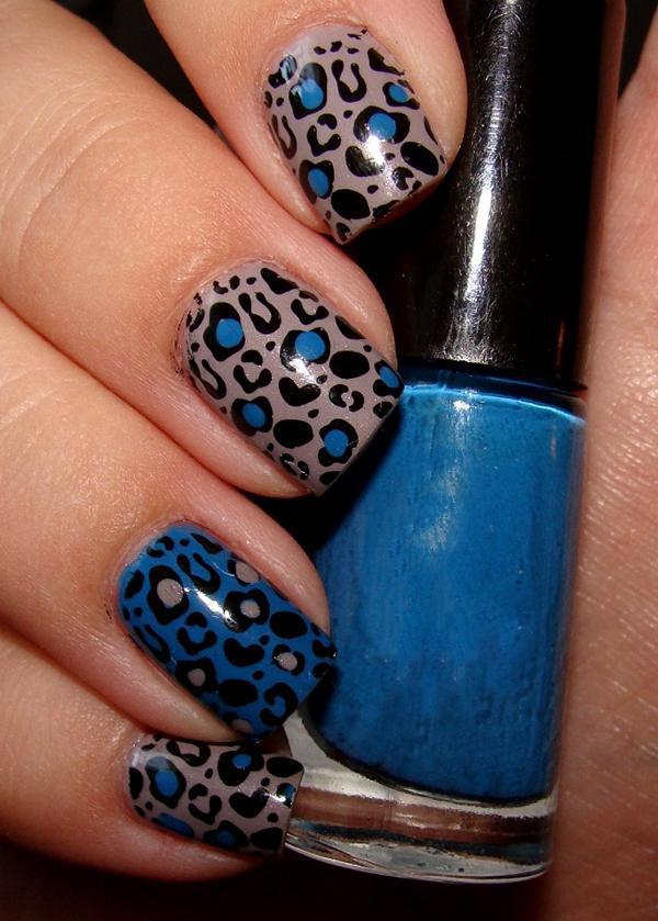 Леопардовый маникюр, для настоящих хищниц! | 17
