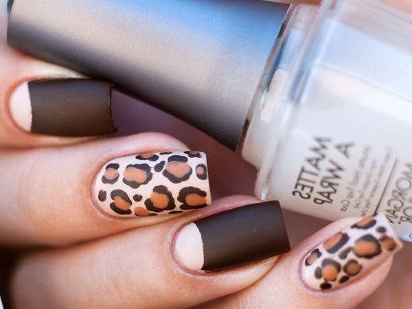 Леопардовый маникюр, для настоящих хищниц! | 18