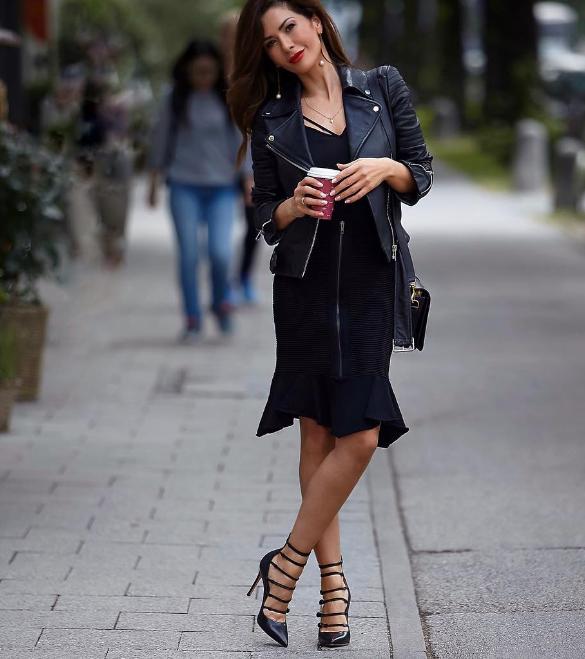 Модный тренд 2018: куртка-косуха | 18