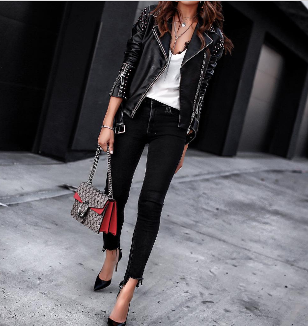 Модный тренд 2018: куртка-косуха | 19