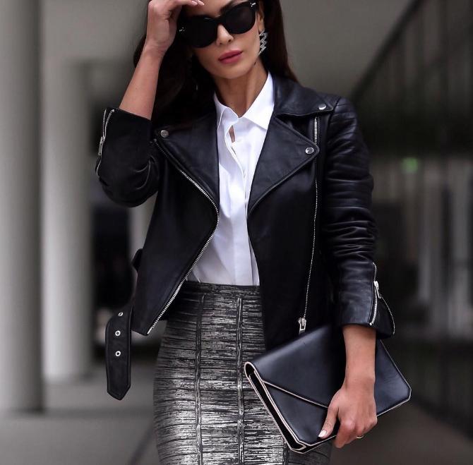 Модный тренд 2018: куртка-косуха | 2