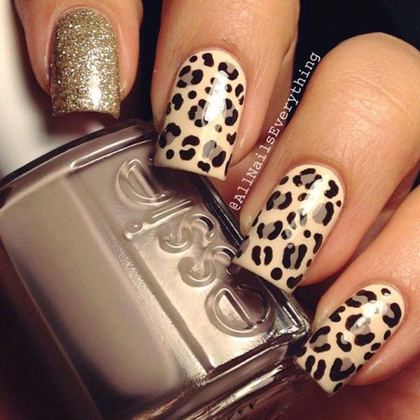 Леопардовый маникюр, для настоящих хищниц! | 20