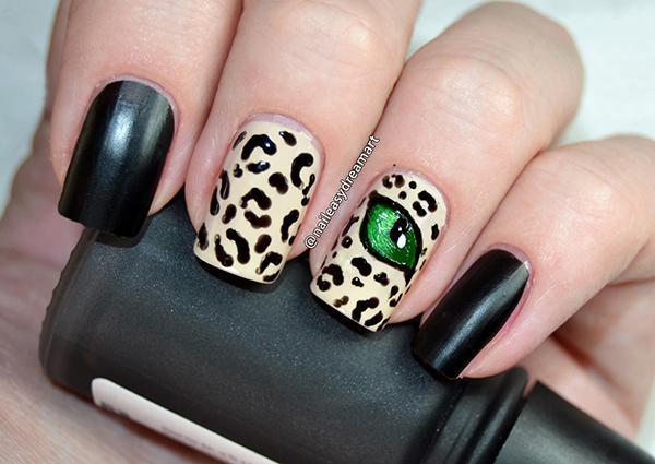 Леопардовый маникюр, для настоящих хищниц! | 21