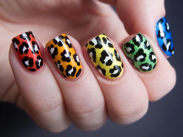 Леопардовый маникюр, для настоящих хищниц! | 22