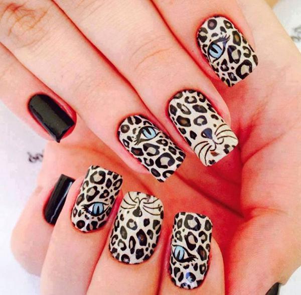 Леопардовый маникюр, для настоящих хищниц! | 3