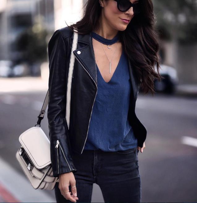 Модный тренд 2018: куртка-косуха | 7