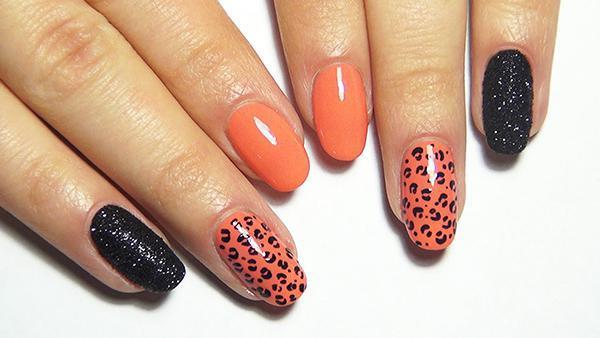 Леопардовый маникюр, для настоящих хищниц! | 7