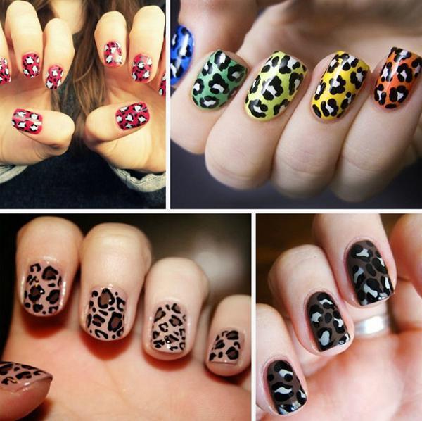 Леопардовый маникюр, для настоящих хищниц! | 8