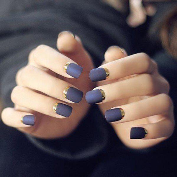 Тренды маникюра: ногти-металлик   2