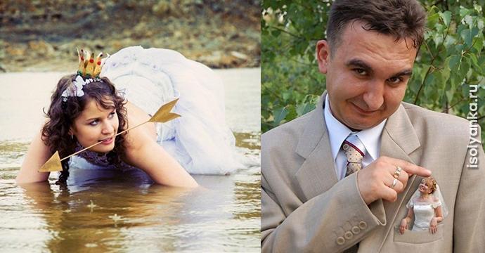 34 свадебных фотографии, которые насмешат вас до слез! | 1