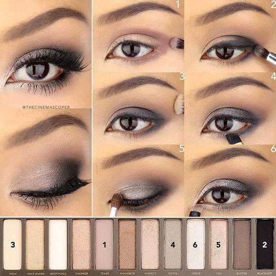Лучшие идеи макияжа со схемами — 15 фото!
