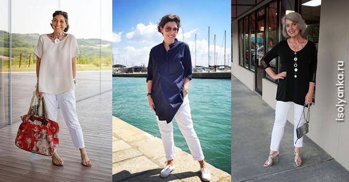 Модные брюки Чинос: 15 образов с чинос для женщин за 50   84