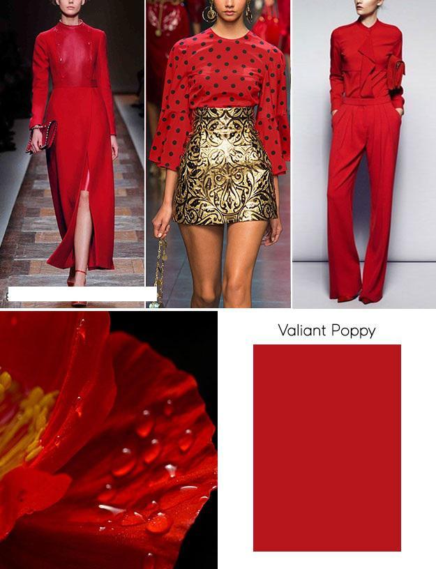 Модные цвета осень-зима 2018/2019 по версии экспертов института Pantone