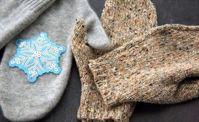 Полезные вещи из старого свитера | 17
