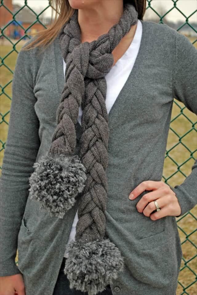 Полезные вещи из старого свитера | 31