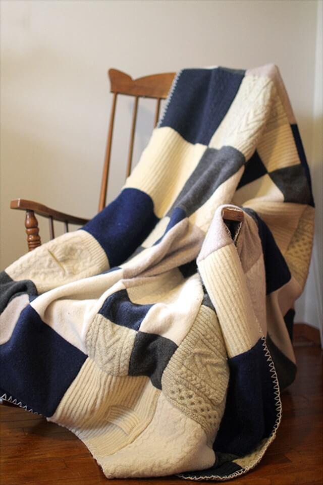 Полезные вещи из старого свитера | 5