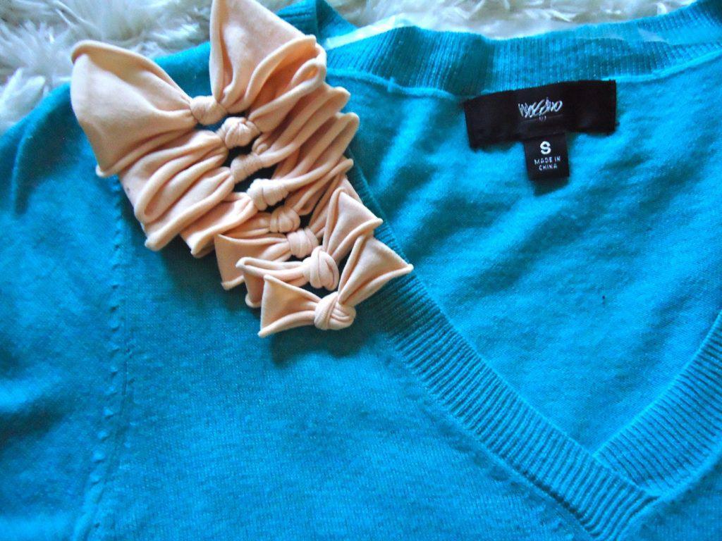 Бантики свитера