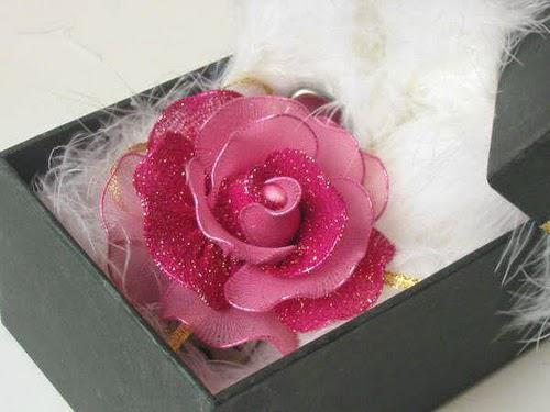 Цветочная шиньоны