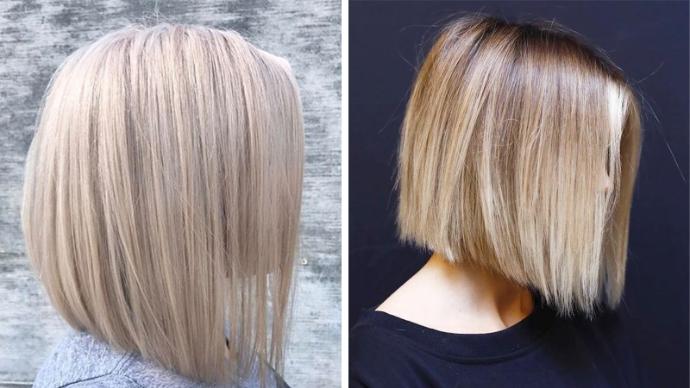 Идеи стрижек на волосы средней длины | 1