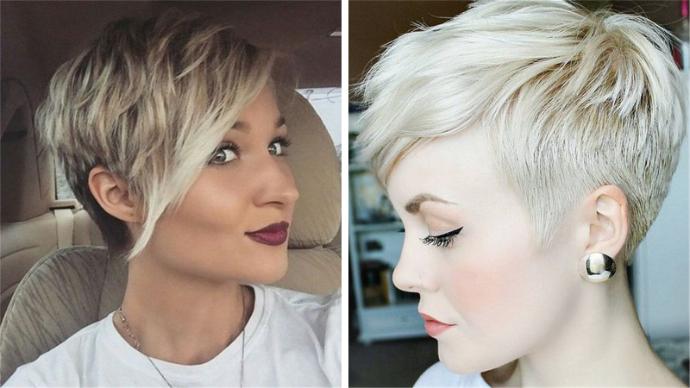 15 идей стрижки пикси на тонкие волосы | 182