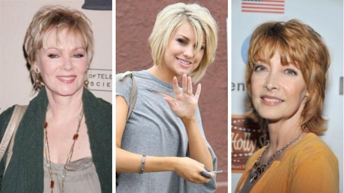 35 идей стрижки «шэг» для женщин старше 40 на тонкие волосы | 117