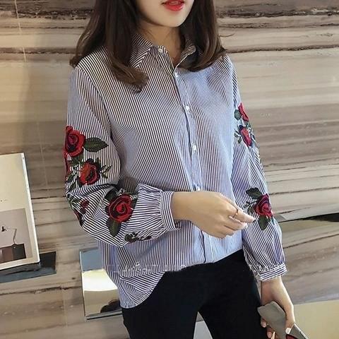 Рубашка в полоску: с чем и как носить | 20