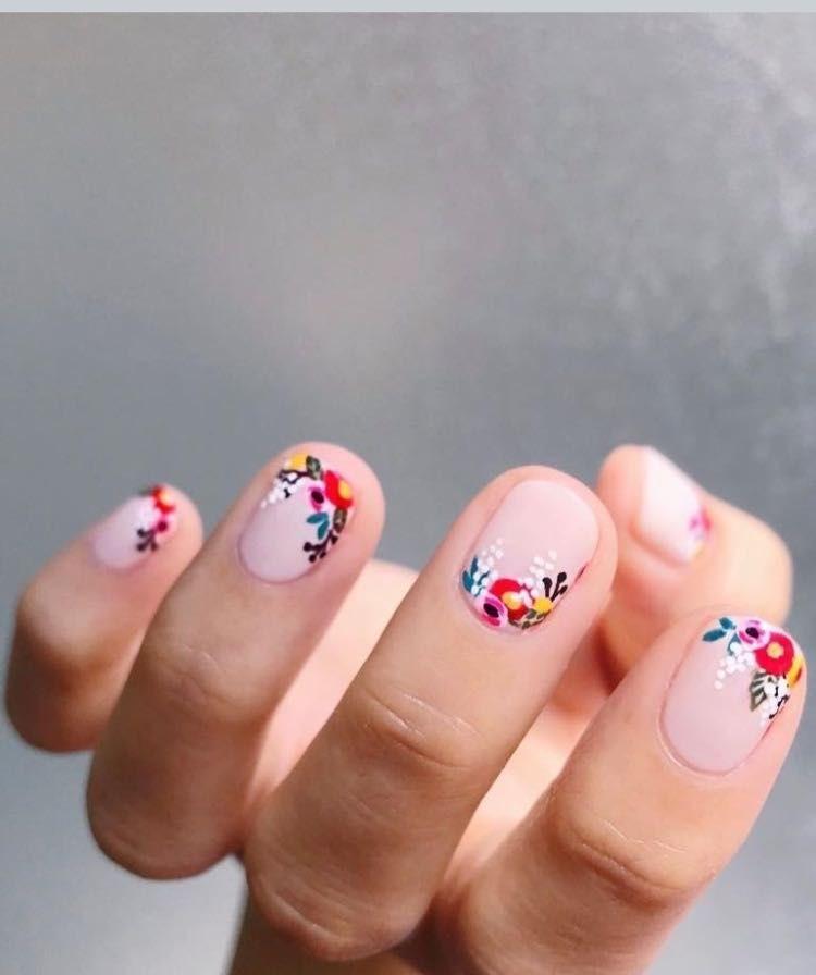 38 идей весеннего дизайна ногтей 20