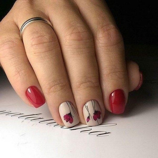 38 идей весеннего дизайна ногтей 22