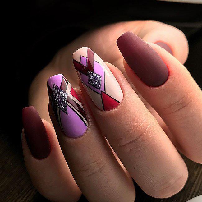 35 идей дизайна ногтей, которые вы должны попробовать 32