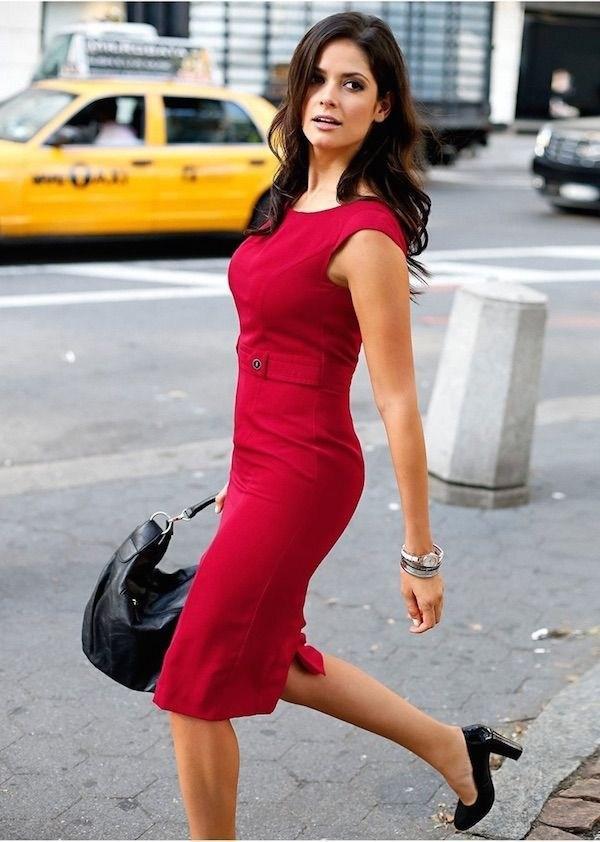 35 женственных образов для бизнес-леди | 5
