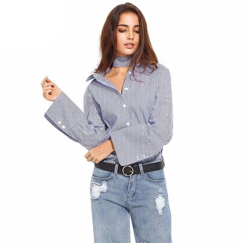 Рубашка в полоску: с чем и как носить | 9