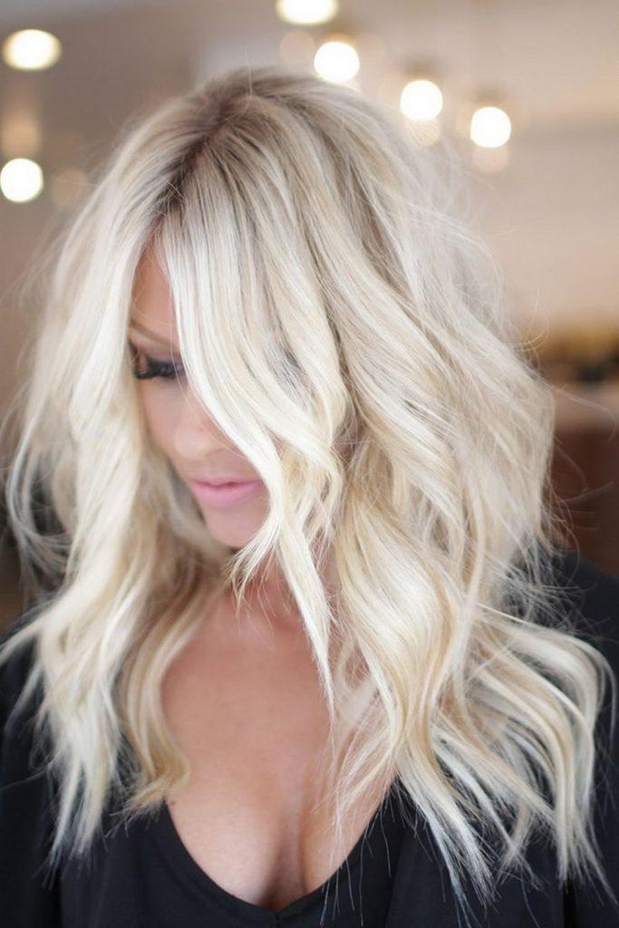 43 кокетливые прически для блондинок   1