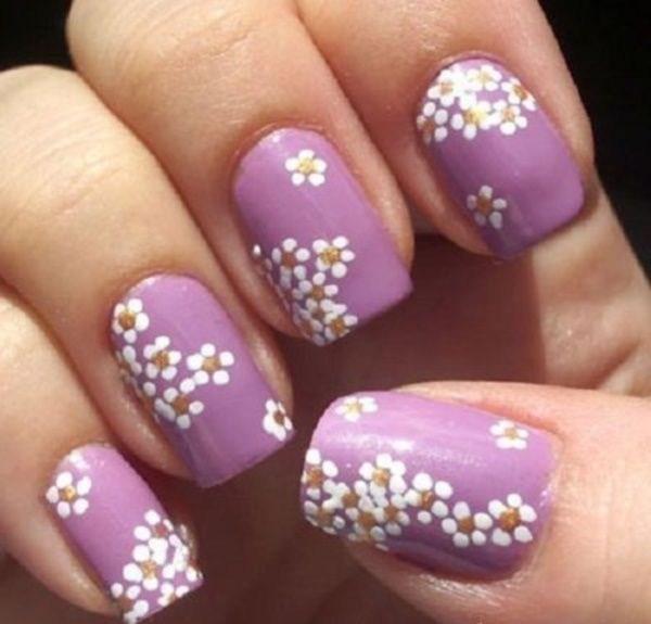 39 обворожительных идей дизайна ногтей на предстоящую весну | 1
