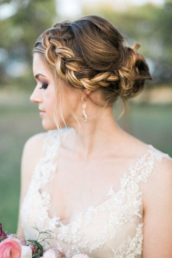 39 элегантных свадебных причесок   1