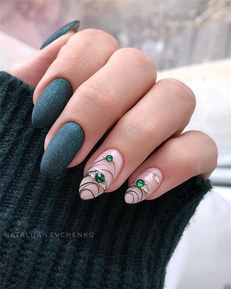 50 идей дизайна ногтей гель-лаком | 1