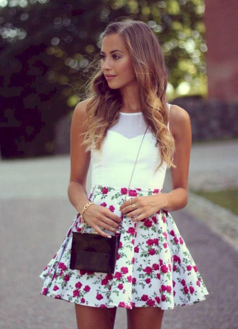 37 весенних образов с модными юбками которые вы должны попробовать | 10
