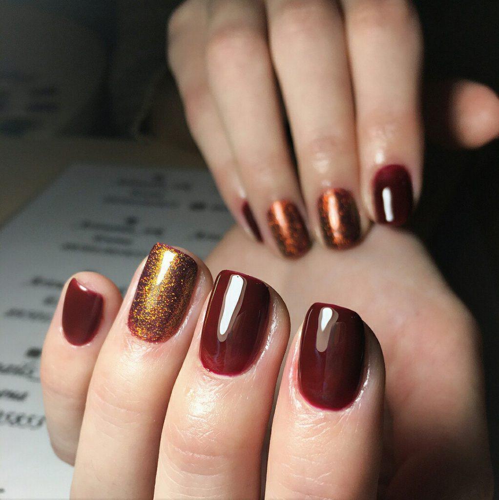 Идеи ежедневного маникюра на короткие квадратные ногти | 11