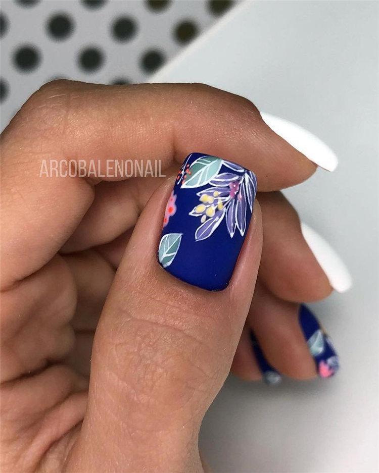 50 идей дизайна ногтей гель-лаком | 11