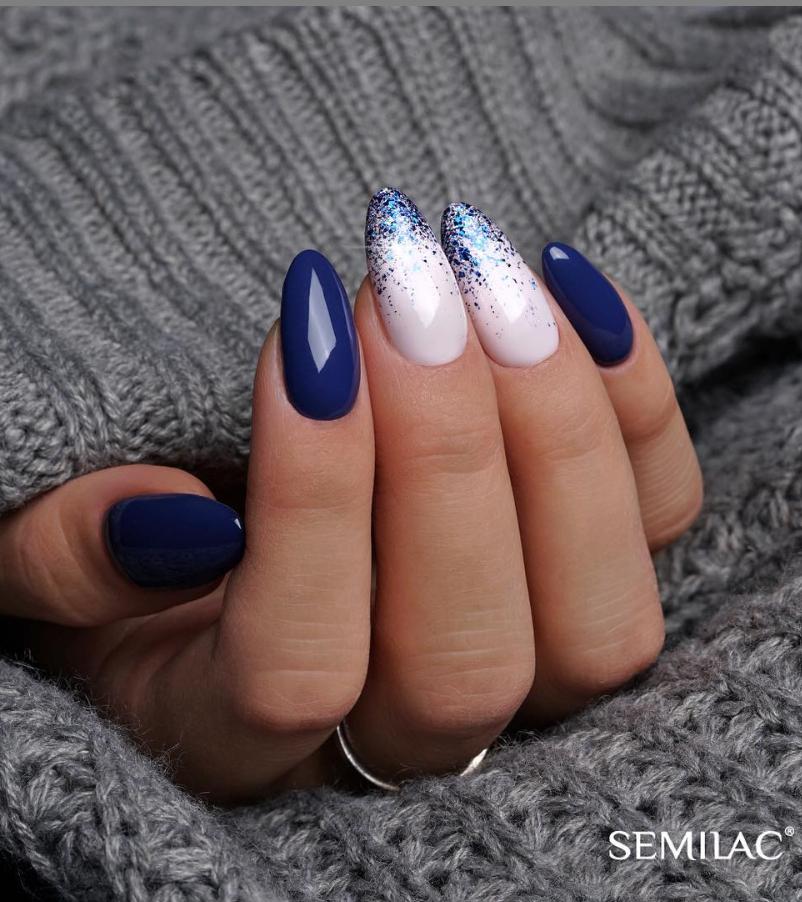 Модные идеи дизайна на овальные ногти | 11