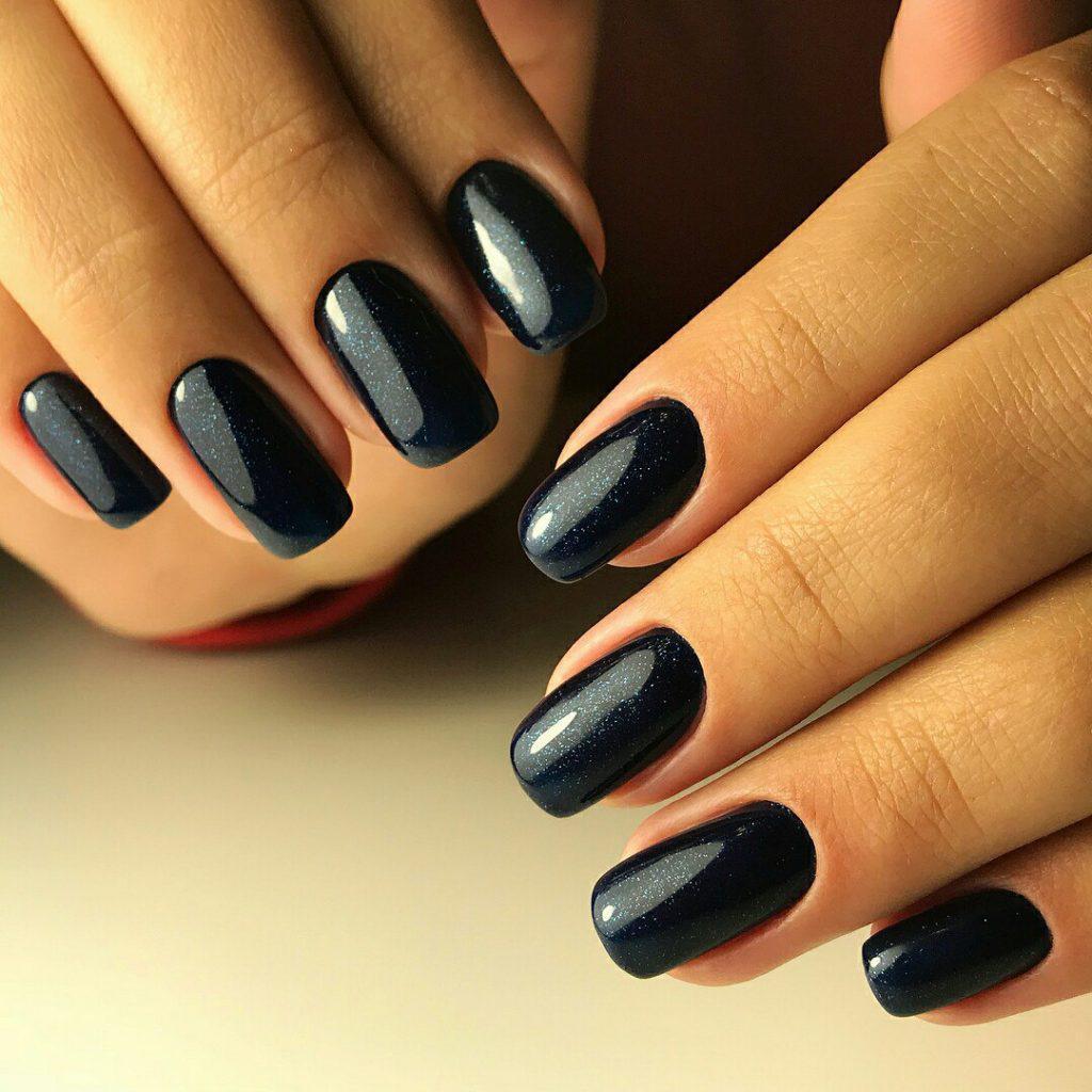 Идеи ежедневного маникюра на короткие квадратные ногти | 12