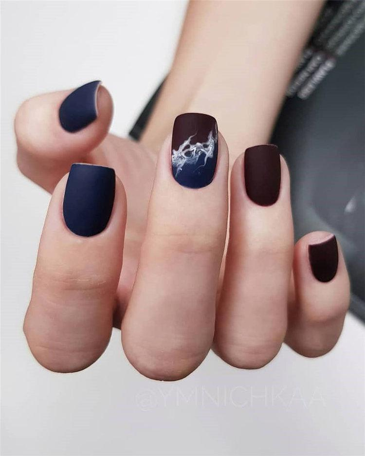 50 идей дизайна ногтей гель-лаком | 12