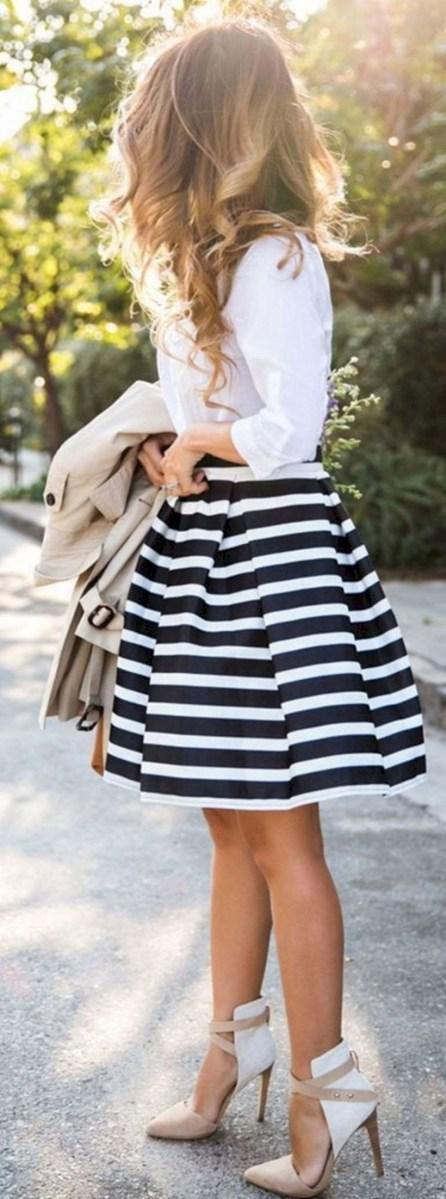37 весенних образов с модными юбками которые вы должны попробовать | 12