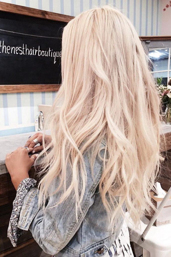 43 кокетливые прически для блондинок   12
